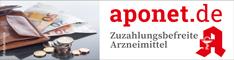 Zuzahlungsbefreite Medikamente / Zuzahlungsbefreiung auf aponet.de