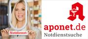 zur Apothekennotdienstsuche auf aponet.de