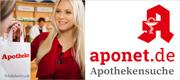 Finden Sie Ihre Apotheke in der Nähe auf aponet.de
