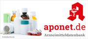 Zur Arzneimitteldatenbank auf aponet.de